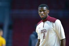 2014 NCAA Basketbal - de actie van het de Tempelspel van Towson @ Stock Afbeeldingen
