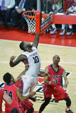2014 NCAA Basketbal - Grote 5 Royalty-vrije Stock Foto's
