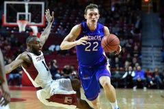 2014 NCAA Basketbal - het Basketbal van Mensen Royalty-vrije Stock Foto's