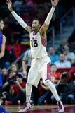 2014 NCAA Basketbal - het Basketbal van Mensen Royalty-vrije Stock Afbeelding