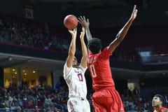 2016 NCAA Basketbal - Houston bij Tempel Stock Afbeeldingen