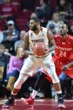 2016 NCAA Basketbal - Houston bij Tempel Stock Foto's