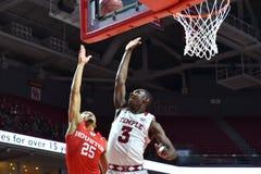 2016 NCAA Basketbal - Houston bij Tempel Royalty-vrije Stock Afbeelding