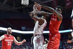 2016 NCAA Basketbal - Houston bij Tempel Stock Foto