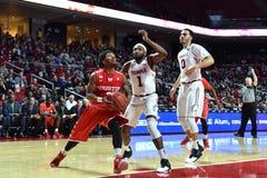 2016 NCAA Basketbal - Houston bij Tempel Royalty-vrije Stock Foto
