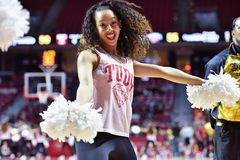2015 NCAA Basketbal - NIT Eerste Rd tempel-Bucknell Royalty-vrije Stock Foto's