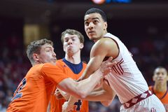 2015 NCAA Basketbal - NIT Eerste Rd tempel-Bucknell Royalty-vrije Stock Foto