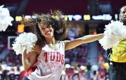 2015 NCAA Basketbal - NIT Eerste Rd tempel-Bucknell Stock Afbeelding