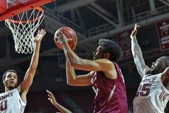 2015 NCAA Basketbal - St Joe bij Tempel Stock Afbeeldingen