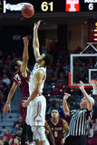 2015 NCAA Basketbal - St Joe bij Tempel Stock Fotografie
