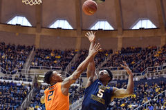 2015 NCAA Basketbal - Staat WVU-Oklahoma Stock Fotografie
