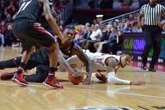 2015 NCAA Basketbal - tempel-Cincinnati Royalty-vrije Stock Foto