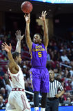 2015 NCAA Basketbal - tempel-ECU Stock Afbeelding