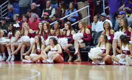 2015 NCAA Basketbal - tempel-ECU Stock Foto's