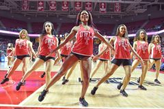 2015 NCAA Basketbal - tempel-Tulane Stock Afbeeldingen