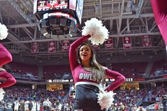 2015 NCAA Basketbal - tempel-Tulane Royalty-vrije Stock Foto's