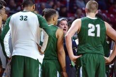 2015 NCAA Basketbal - tempel-Tulane Royalty-vrije Stock Foto