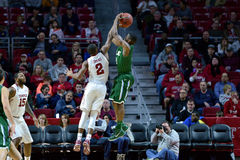 2015 NCAA Basketbal - tempel-Tulane Royalty-vrije Stock Afbeelding