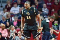 2015 NCAA Basketbal - Tempel - UCF Stock Afbeelding