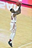 2015 NCAA Basketbal - Tempel versus de Staat van Delaware Royalty-vrije Stock Afbeeldingen