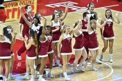 2015 NCAA Basketbal - Tempel versus de Staat van Delaware Stock Afbeelding
