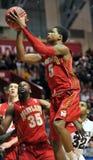 NCAA Basketball 2012 - lay up Royalty Free Stock Photo