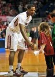 NCAA Basketball 2012 - pregame introductions Stock Image