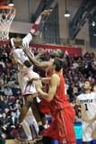 Ncaa-Basketball 2012 - Tätigkeit im Weg Lizenzfreie Stockfotografie