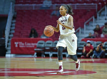 2014 NCAA-Basketball - der Basketball der Frauen Stockfotografie