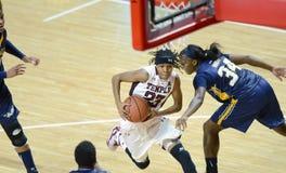 2014 NCAA-Basketball - der Basketball der Frauen Lizenzfreies Stockbild