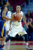 2014 NCAA-Basketball - der Basketball der Frauen Lizenzfreies Stockfoto