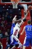 2014 NCAA-Basketball - der Basketball der Männer Stockfotografie