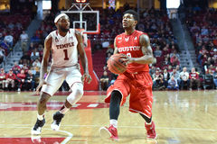 2016 NCAA-Basketball - Houston am Tempel Lizenzfreies Stockbild