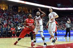 2016 NCAA-Basketball - Houston am Tempel Lizenzfreies Stockfoto
