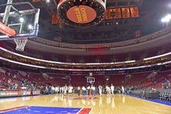 2014 NCAA-Basketball - Kansas am Tempel Lizenzfreies Stockbild