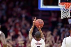 2014 NCAA Basketball - Kansas at Temple Royalty Free Stock Images