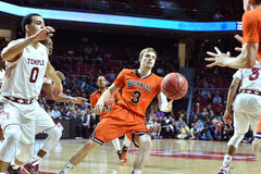 2015 NCAA Basketball - NIT First Rd Temple-Bucknell Royalty Free Stock Image