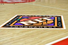 2015 NCAA Basketball - NIT First Rd Temple-Bucknell Royalty Free Stock Photography