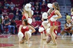 2015 NCAA Basketball - NIT Quarterfinals Temple-La. Tech Royalty Free Stock Photo