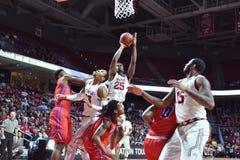 2015 NCAA Basketball - NIT Quarterfinals Temple-La. Tech Royalty Free Stock Photography