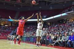 2015 NCAA Basketball - NIT Quarterfinals Temple-La. Tech Stock Photos