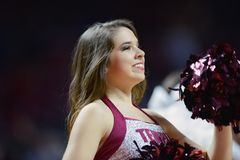 2014 NCAA Basketball - Spirit Squad Royalty Free Stock Photography
