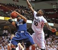 Ncaa-Basketball-Tätigkeit 2011-12 Lizenzfreies Stockbild