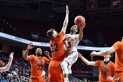 2015 NCAA-Basketball - Tempel-Bucknell neuer Informationstechnologie erste Rd Stockfoto