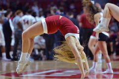 2015 NCAA-Basketball - Tempel-Bucknell neuer Informationstechnologie erste Rd Stockbild