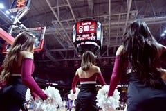 2015 NCAA-Basketball - Tempel-ECU Lizenzfreie Stockfotos