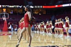 2015 NCAA-Basketball - Tempel gegen Staat Delaware Stockfotografie