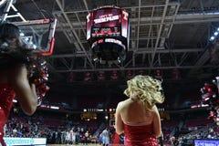 2015 NCAA-Basketball - Tempel gegen Staat Delaware Stockbild