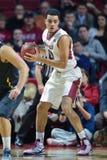 2014 NCAA-Basketball - Tempel-Spielaktion Towson @ Lizenzfreies Stockfoto