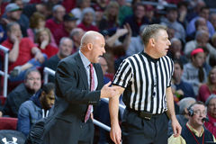 2015 NCAA Basketball - Temple-Cincinnati Royalty Free Stock Photo